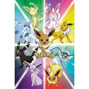 Pokemon Eevee Evolution Maxi Poster