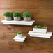 3 White Floating Shelves | M&W - Image 2