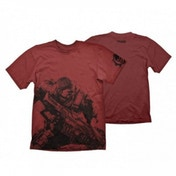 Gears Of War 4 Men's Fenix Large Dark Red T-Shirt