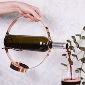 Thumbs Up! Wine Bottle Holder & Pourer