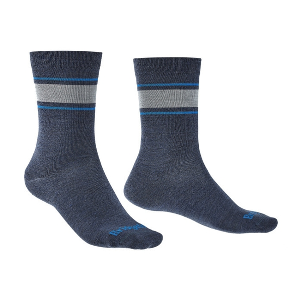 Bridgedale EVERYDAY Sock / Liner Merino Performance Mens - Large Sodalite Blue