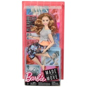 Barbie Made To Move Doll - Strawberry Blonde