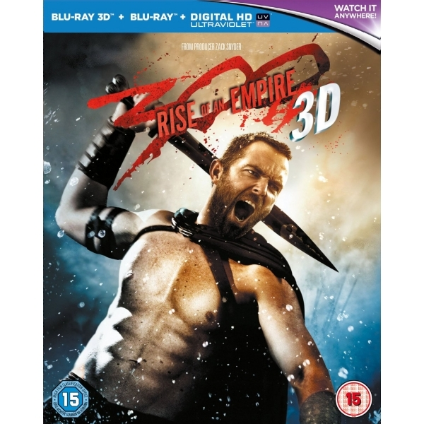 300 Rise Of An Empire Blu-ray 3D   Blu-ray   UV Copy