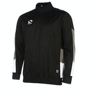 Sondico Venata Quarter Jacket Adult Large Black/Charcoal/White