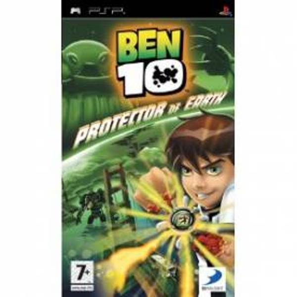 Ben 10 Protector Of Earth Game PSP