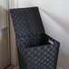 Nylon Laundry Basket - 45L | Pukkr Black - Image 4