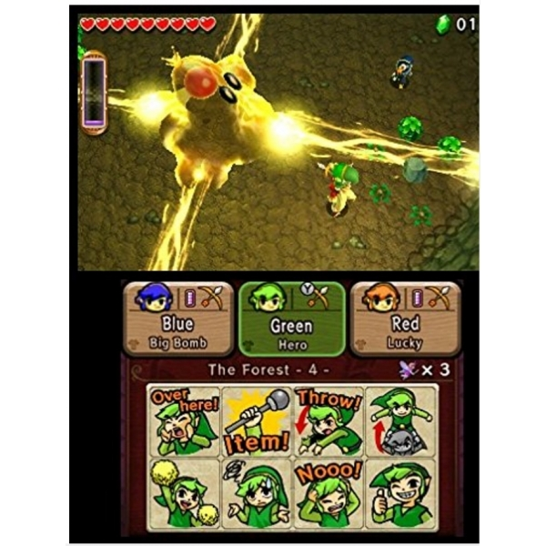 The Legend Of Zelda Triforce Heroes 3DS Game - Image 3