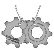 Gears Of War Metal Dogtags