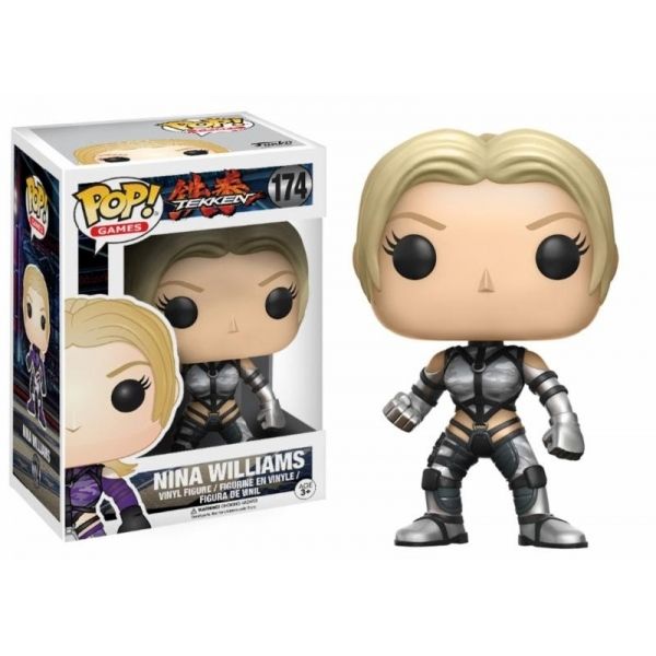 Ex Display Nina Williams Tekken Limited Edition Funko
