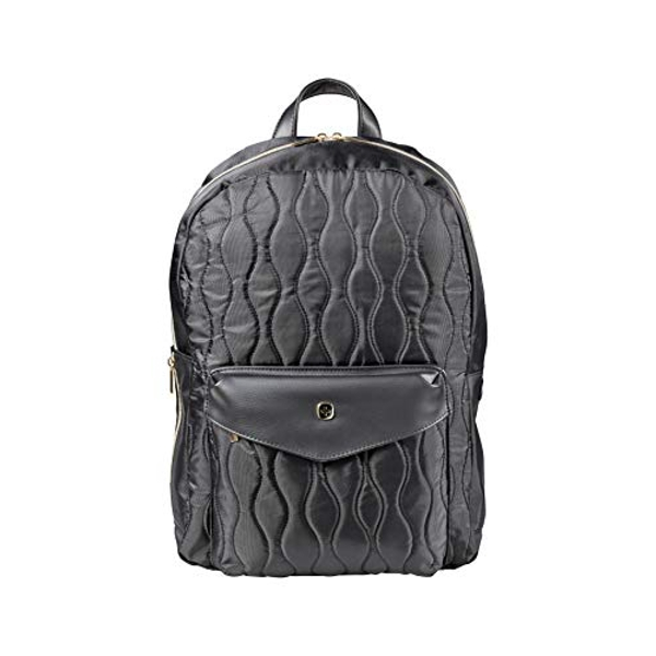 """Image of Wenger 605497 MARIEMAE 16"""" Womens Backpack, Padded Laptop Compartment with Essentials Organizer in Black"""