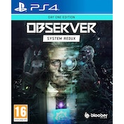 Observer System Redux Day One Edition PS4 Game