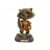 Marvel Rocket Raccoon Flocked Wacky Wobbler