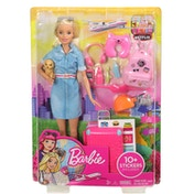 Barbie Doll Travel Set