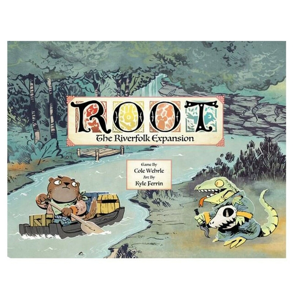 Root: Riverfolk Expansion Board Game