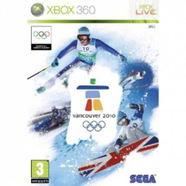 Vancouver 2010 Olympic Winter Games Game Xbox 360