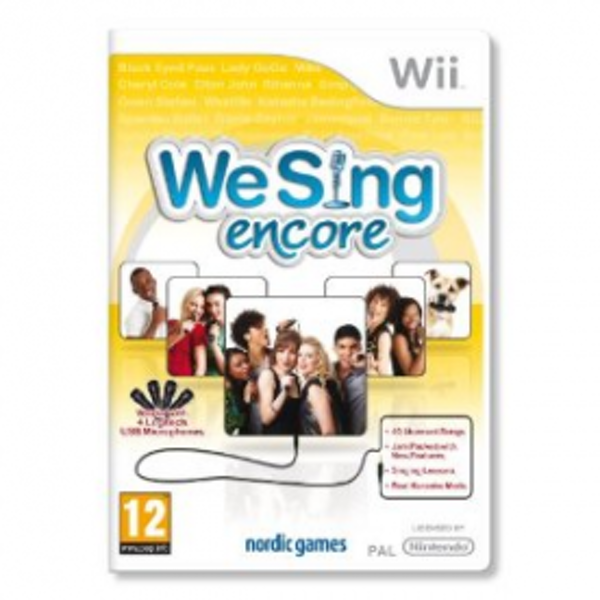 We Sing Encore Solus Game Wii