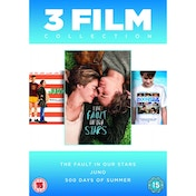 Fault In Our Stars/Juno/500 Days Of Summer DVD