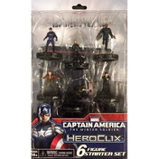 Heroclix Captain America The Winter Soldier Movie 6 Figure Starter Pack