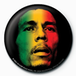 Bob Marley - Face Badge - Image 2