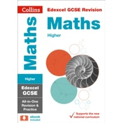 Edexcel GCSE Maths Higher All-in-One Revision and Practice (Collins GCSE 9-1 Revision) by Collins GCSE (Paperback, 2015)