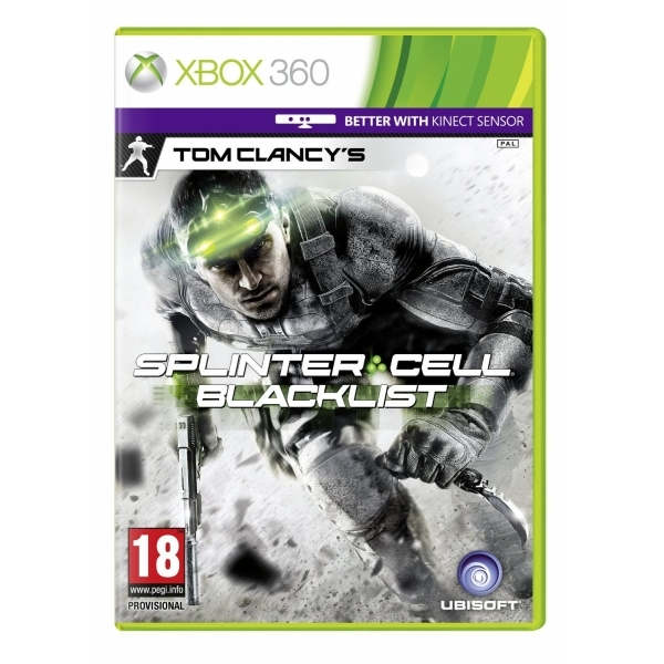 Tom Clancys Splinter Cell Blacklist (Kinect Compatible) Game Xbox 360