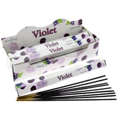 Violet (Pack Of 6) Stamford Hex Incense Sticks