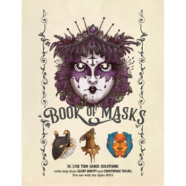 Book of Masks Source Book: Spire RPG