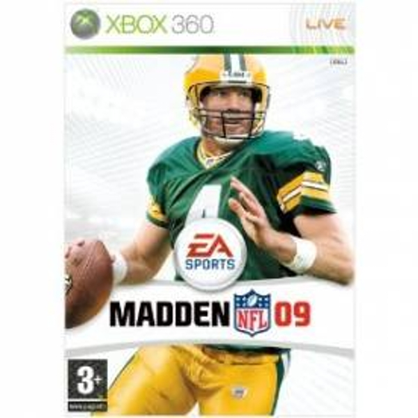 Madden NFL 09 Game Xbox 360