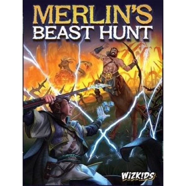 Merlin's Beast Hunt Board Game