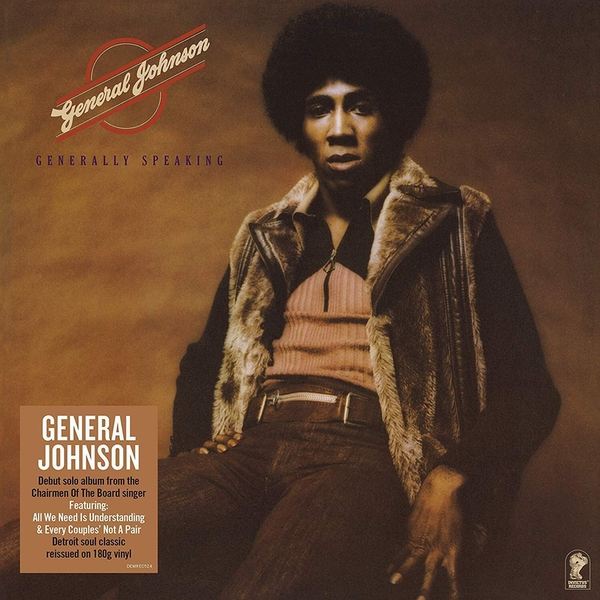 General Johnson - Generally Speaking Vinyl
