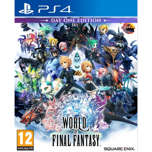 World Of Final Fantasy Day One Edition PS4 Game