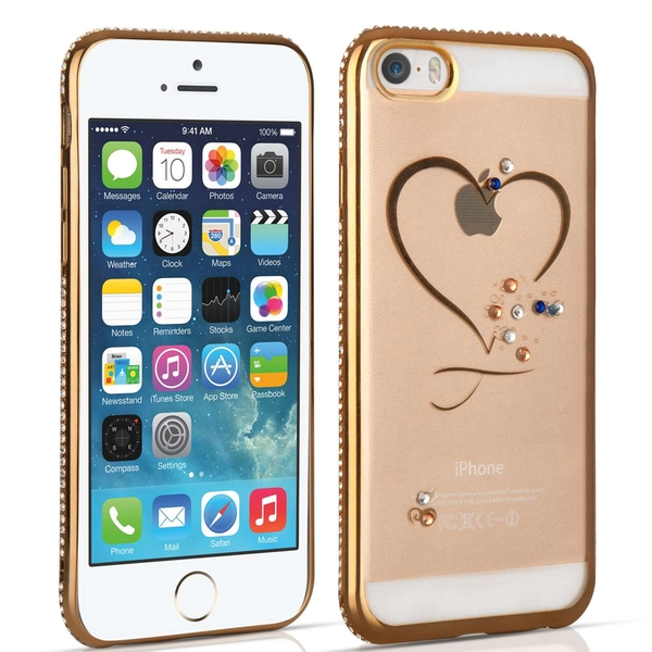 Compare prices with Phone Retailers Comaprison to buy a Apple iPhone 5 / 5s / SE Diamond Edge Case - Gold