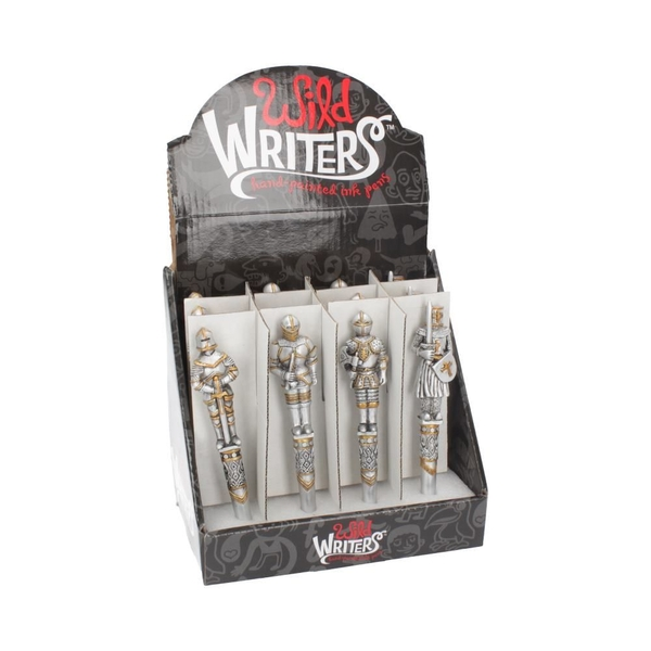 Wild Writers Medieval Knight Pens (Set of 12)