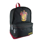 Harry Potter Gryffindor Black and Burgundy Polyester Backpack