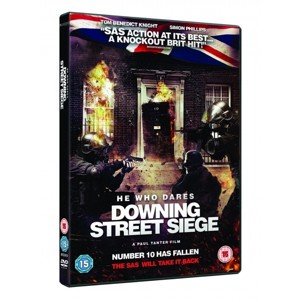 He Who Dares The Downing St Siege DVD
