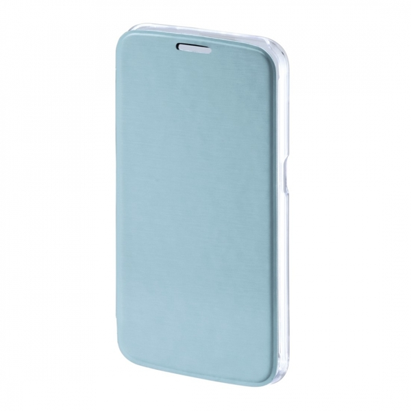 Hama Clear Booklet Case for Samsung Galaxy S7 Light Blue