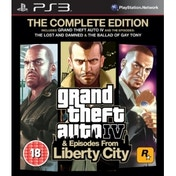 Grand Theft Auto IV 4 GTA Complete Edition Game PS3