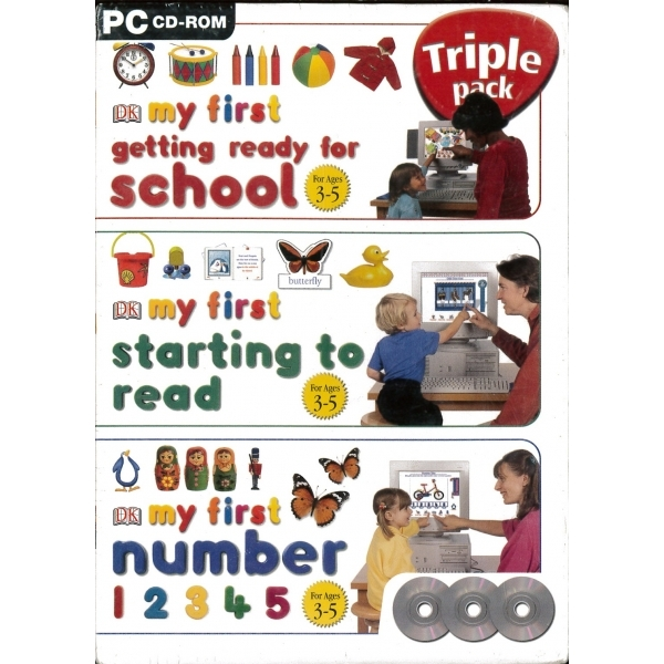 My First... Triple Pack (School, Read, Number) PC