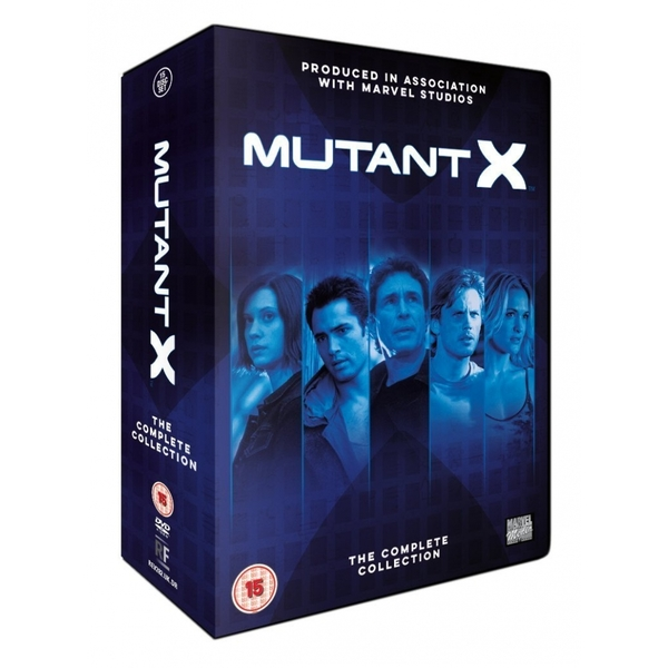 Mutant X The Complete Seasons 1-3 DVD