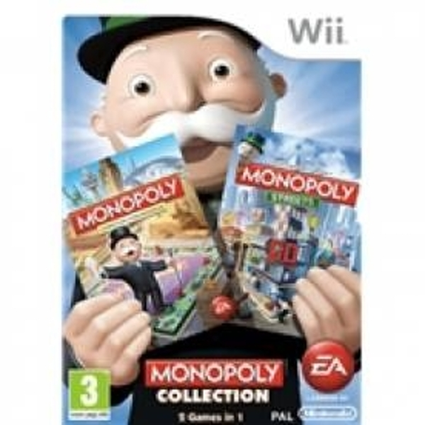 Ex-Display Monopoly Collection Game Wii Used - Like New