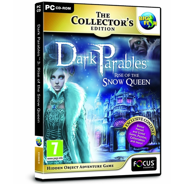 Dark Parables 3 Rise of the Snow Queen Collectors Edition PC Game