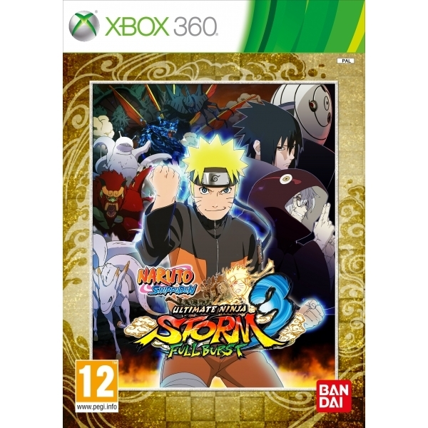 Naruto Shippuden Ultimate Ninja Storm 3 Full Burst Xbox 360 Game