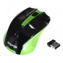 Approx Wireless Optical Mouse, Nano USB - Black/Green