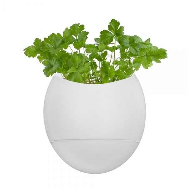 Thumbs Up Eco Pod Self-Watering Herb Pot White - Image 3