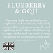 Blueberry & Goji (Pastel Collection) Glass Country Candle - Image 3