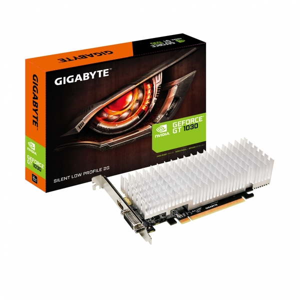 Compare retail prices of Gigabyte Nvidia GeForce GT 1030 Silent Low Profile 2G GDDR5 64 Bit Memory PCI Express Graphics Card - Black to get the best deal online