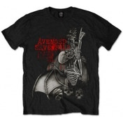 Avenged Sevenfold Spine Climber Blk T Shirt: Medium
