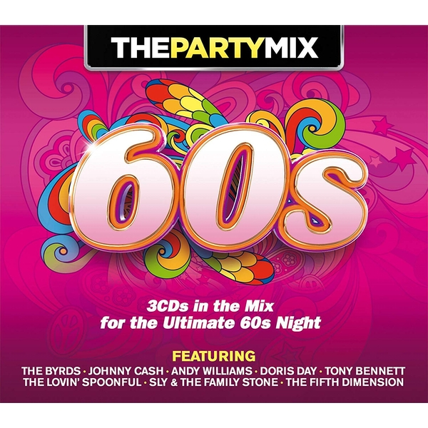 The Party Mix 60's CD