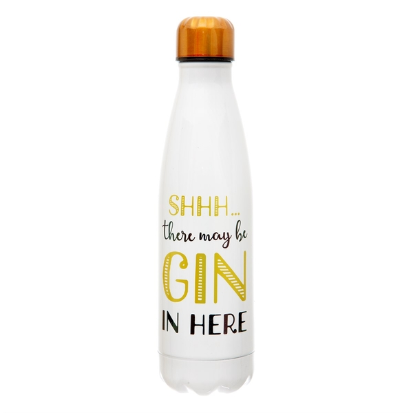 Sass & Belle Shhh? There's Gin in here Stainless Steel Water Bottle