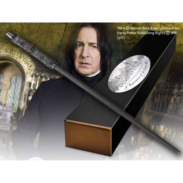 Professor Severus Snape's Character Wand (Harry Potter) The Noble Collection Replica
